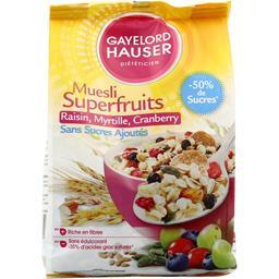 Muesli fibres figues & pommes sans sucres ajoutés