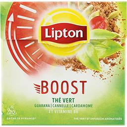 Thé vert Boost Guarana cannelle cardamone