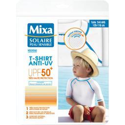 Solaire Peau Sensible - T-shirt enfant anti-UV 50+ taille 4-5 ans 105-116 cm