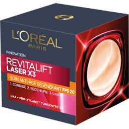 L'Oréal Soin anti-âge régénérant FPS 20 Revitalift Laser X3