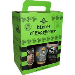 Coffret de bières d'excellence