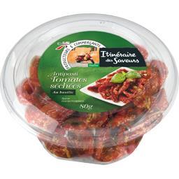 Itinéraire des Saveurs Antipasti tomates séchées au basilic le pot de 80 g