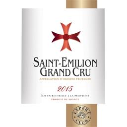 Saint-Emilion grand cru, vin rouge