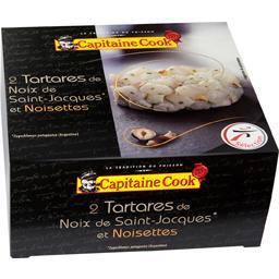 Le Prestigieux Tartare de noix de Saint-Jacques et noisettes