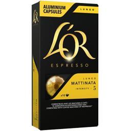 Capsules de café Lungo Mattinata