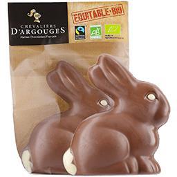 Mini lapin au chocolat au lait 37% de cacao
