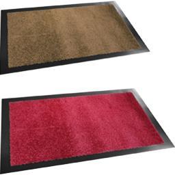 Essuie-pieds couleur 40x60cm coloris assortis