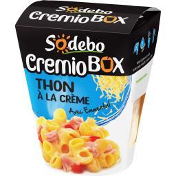 Cremio Box - Pâtes thon à la crème avec Emmental