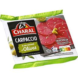 Carpaccio olives finement concassées & sa marinade
