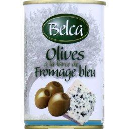 Olives à la farce de fromage bleu