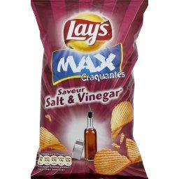 Max Craquantes - Chips saveur Salt & Vinegar