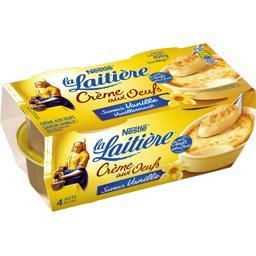 Nestlé La Laitière Crème aux œufs saveur vanille
