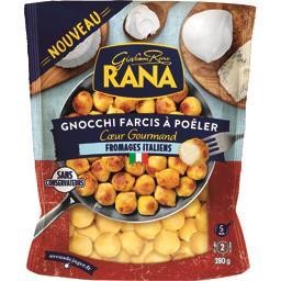 Gnocchi farcis à poêler cœur gourmand fromages italiens