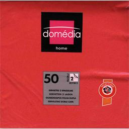 Home - Serviettes 2 épaisseurs 32,5x32,5 cm rouge
