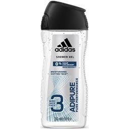 Adidas Hair & Body 3 - Gel douche Adipure