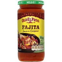 Old El Paso Sauce à cuisiner pour Fajitas Original doux