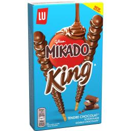 Mikado - Biscuits King nappés tendre chocolat