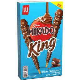 LU LU Mikado - Biscuits King nappés tendre chocolat