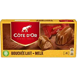Cote d or bouchees lait