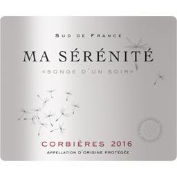 Corbières Ma Sérénité Songe d'un Soir, vin rouge