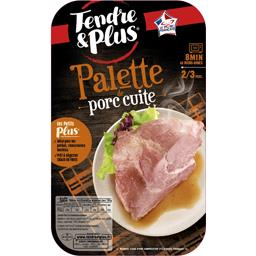 Palette de porc cuite