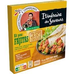 Kit pour Fajitas Crispy Chicken