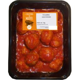Fricadelles sauce tomate