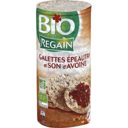 Regain Bio Galettes épeautres et son d'avoine BIO le paquet de 125 g