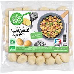Les artisans du bio Gnocchi recette traditionnelle BIO Le sachet de 300 gr