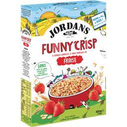 Funny Crisp - Céréales complètes fraise