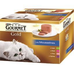 Gold - Les Mousselines, aliment complet pour chat ad...