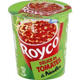 Délice de tomates et noodles