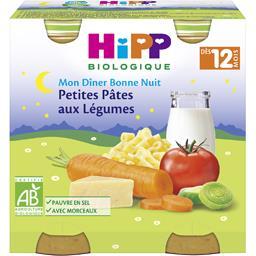 Mon Dîner Bonne Nuit - Petites pâtes au légumes BIO,...
