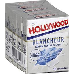 Hollywood Blancheur - Chewing-gum menthe polaire sans sucres
