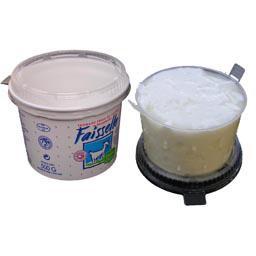 Fromage frais de chèvre au lait pasteurisé, Faisselle