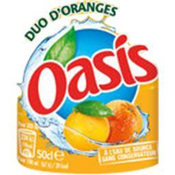 Boisson à l'eau de source orange