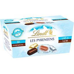 Lindt Lindt Les Pyrénéens - Assortiment de chocolats lait & noir