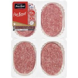 steak de viande hachée pur bœuf 15%