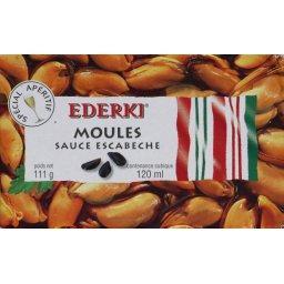 Ederki Moules sauce escabèche, spécial apéritif