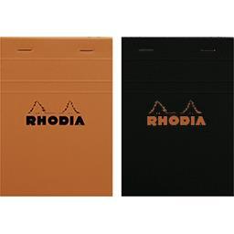 Rhodia Bloc agrafé non perforé 105x148 5x5 coloris assortis