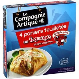 Paniers feuilletés fromage La Vache qui Rit petits l...