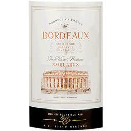 Bordeaux vin blanc moelleux, grand vin de Bordeaux