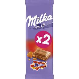 Chocolat au lait Daim