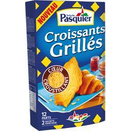 Croissants grillés