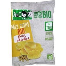 Mes Chips BIO de pois chiches
