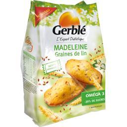 Madeleine aux graines de lin