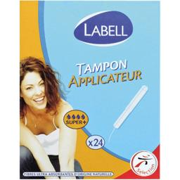 Tampons avec applicateur Super +