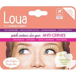 Patch contour des yeux anti-cernes concombre