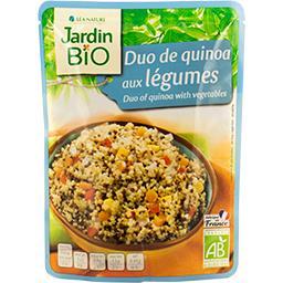 Duo de quinoa aux légumes BIO, recette sud-américain...