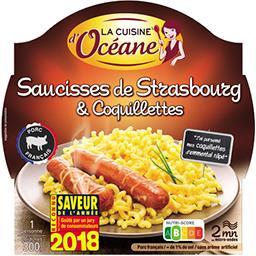Saucisses de Strasbourg & coquillettes